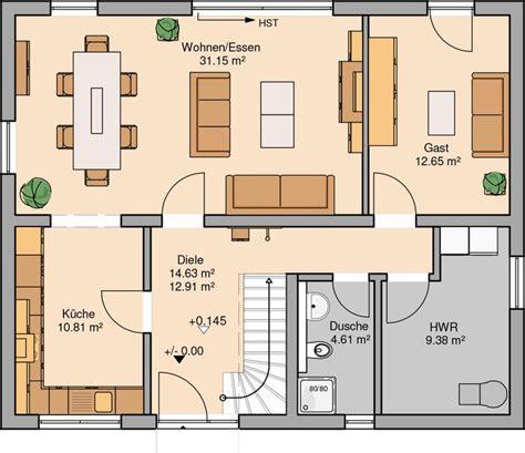Haus Bauen Ideen Grundriss by Grundrisse Einfamilienhaus Atemberaubend Die 25 Besten