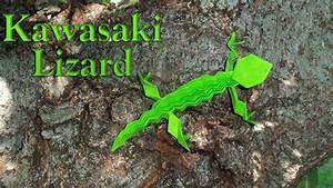 Origami Lizard By Toshikazu Kawasaki