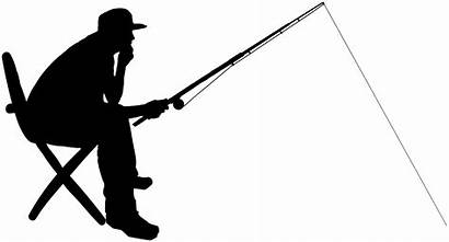 Fisherman Silhouette Clip Clipart Picnic Park Recreation