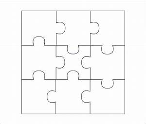 puzzle piece template free premium templates With jigsaw puzzle template for word