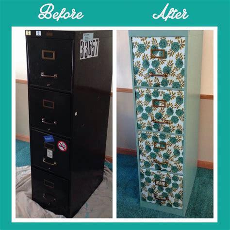 diy file cabinet makeover diy filing cabinet makeover