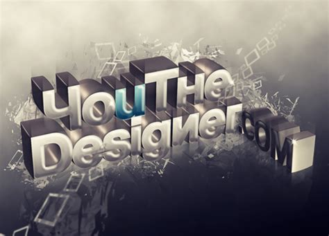 ucreative com 3d typography tutorial using xara3d and photoshop ucreative com