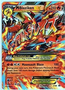 Jumbo Mega M Blaziken EX Pokemon Card (Promo #XY-86 ...