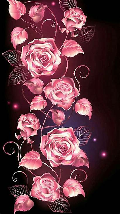 Pink Iphone Roses Rose Background Skull Sugar