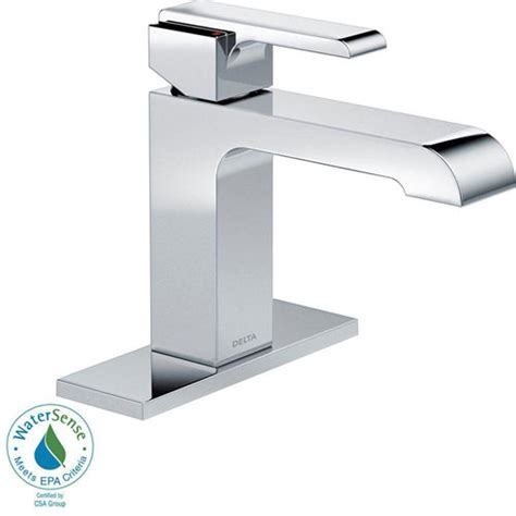 delta ara faucet delta ara single 1 handle bathroom faucet in chrome