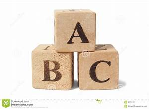 Wooden blocks with abc letters stock photo image 51751401 for Blocks with letters on them