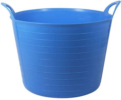 exterior plastic storage cabinets active 31 45 l blue flexi tub departments diy at b q