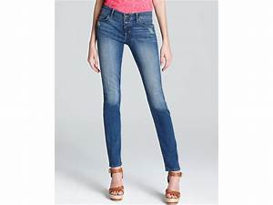 Wrangler Up Jeans Size Chart Rich Skinny Jeans Button Up Skinny In Rhuel In Blue Lyst