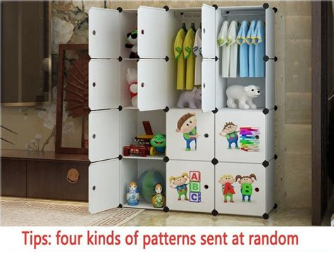 Cupboard For Children by Child Portable Wardrobe Home Portable Folding