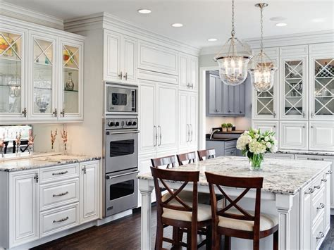 white kitchen cabinets with glass photo page hgtv 1811