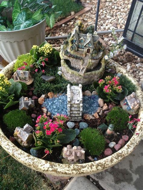 Diy Ideas How To Make Fairy Garden  Knittting Crochet