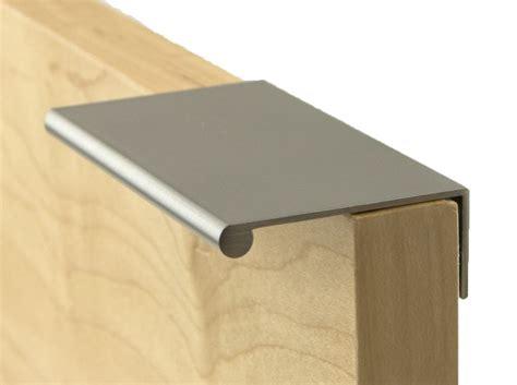 berenson 1057 4bpn p brushed nickel bravo 3 inch finger cabinet pull pullsdirect