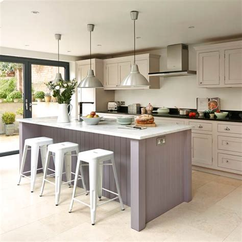 shaker style kitchen island take a look at this bespoke budget kitchen ideal home 5170