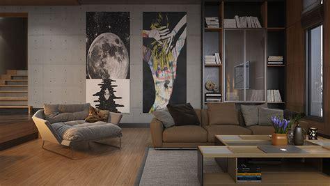 quadri  soggiorno moderno le ultime tendenze  design