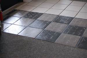 Chalk paint over ceramic tile floor can you paint tile for How to paint a ceramic tile floor