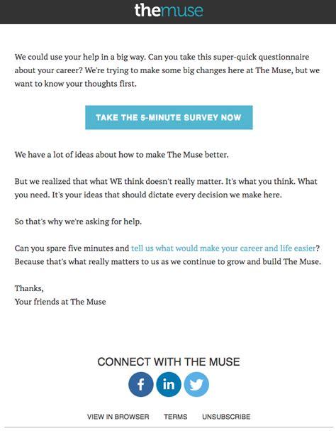 survey email template 4 ways to send better survey invitation emails email design workshop
