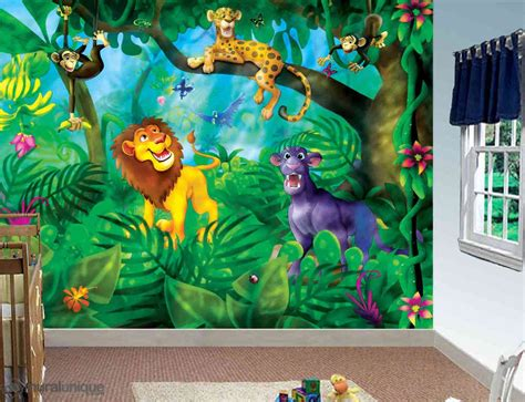 poster pour chambre jungle cats buy prepasted wallpaper murals