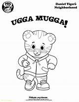 Coloring Neighborhood Tiger Daniel Pages Pbs Mugga Ugga Birthday Drawing Printable Pbskids Tigers Rogers Printables Fun Activity Sheets Wqed Getdrawings sketch template