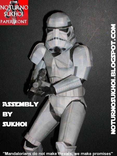 star wars stormtrooper paper craft gadgetsin