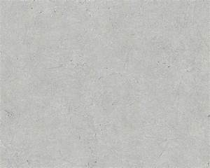 Sample Concrete Wallpaper in Grey design by BD Wall