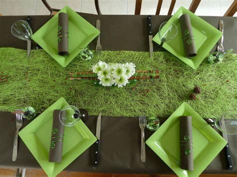 vert anis et chocolat photo de d 233 coration de table maman s 233 clate