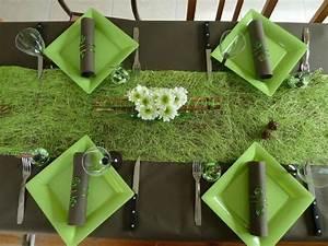Deco Vert Anis : id e d co vert anis et chocolat ~ Teatrodelosmanantiales.com Idées de Décoration