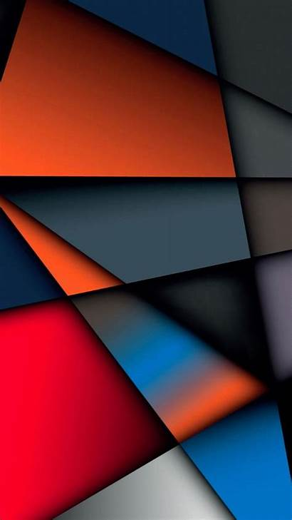 Abstract Iphone Wallpapers Multicolor Geometry Background Shape