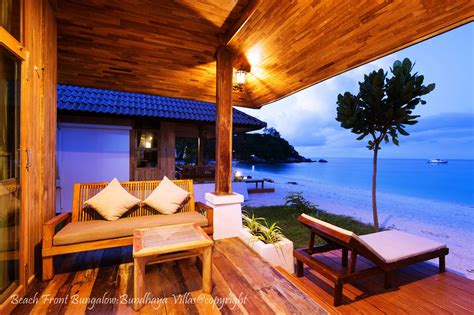 Beach Front Bungalow Bundhaya Villas  Koh Lipe, Satun