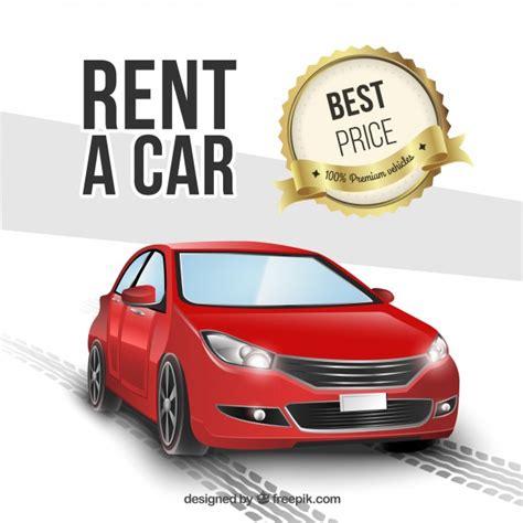Rent A Car Vector  Free Download