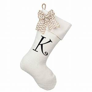 iron on single letter diy monogram christmas stocking With single letter monogram christmas stockings