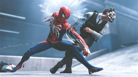 Wallpaper Spider-man, Playstation 4, 2018, 4k, Games, #15838