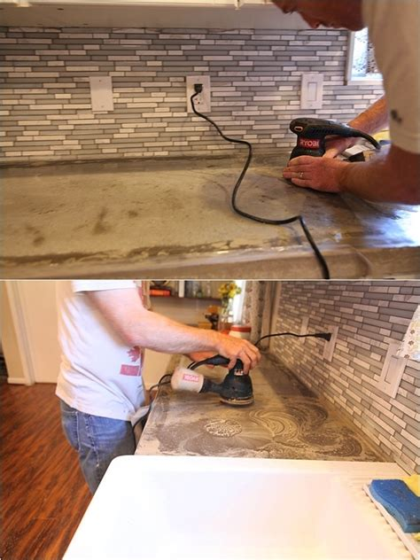 Removing Stains From Concrete Countertops - removing stains resealing concrete countertops run to