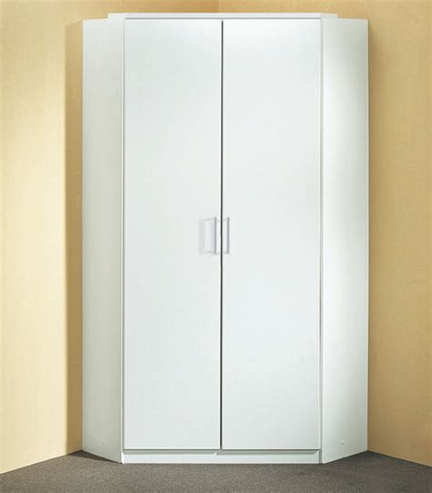 Armoire D'angle Click Blanc