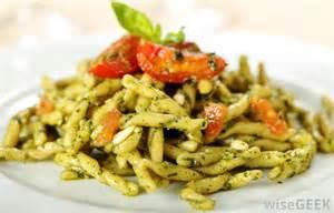 Italian Pasta Dishes Names