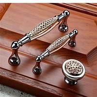 knobs for cabinets Lot 20 Vintage Drawer Pulls Knobs Cabinet Door Handles Porcelain Brass Screws   eBay