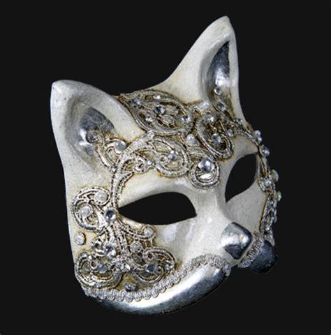 venetian cat mask carta alta venetian masks