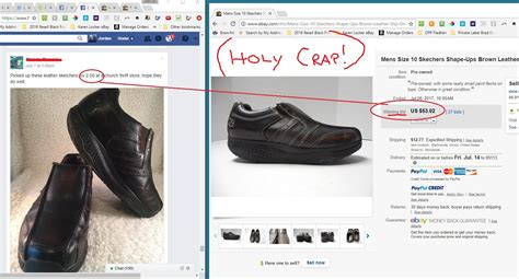 how much to sell a used for big bucks in selling used shoes on ebay
