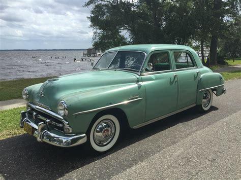 1951 Plymouth Cranbrook 4-door