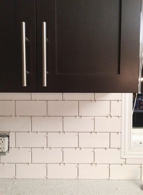 How We Installed Our Subway Tile Backsplash Brittany Stager