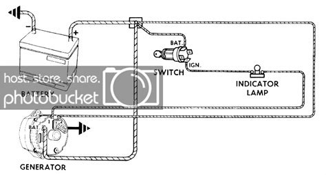 chevy alternator wiring diagram  hamb