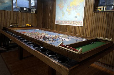 Just waiting for the broken token organizer, then i can break this bad boy open! Custom Axis & Allies Table • /r/gaming   Board game table, Custom table, Table