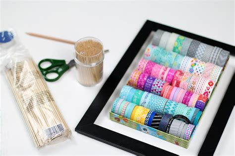 washi bastelideen washi diy hacks