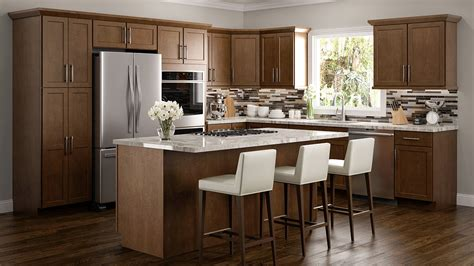 light brown kitchen cupboards rta wood kitchen cabinets ready to assemble kitchen 6970