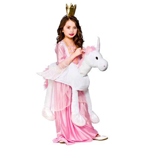 Unicorn Kids Cute Ride On Girls Fancy Dress Costume Dressing Up Age 3-8 | eBay