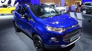 Ford Ecosport Titanium : 2016 ford ecosport titanium exterior and interior auto show brussels 2016 youtube ~ Medecine-chirurgie-esthetiques.com Avis de Voitures