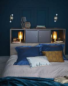 Déco Chambre Bleu Canard : bleu canard bleu paon ou bleu turquoise leroy merlin ~ Melissatoandfro.com Idées de Décoration