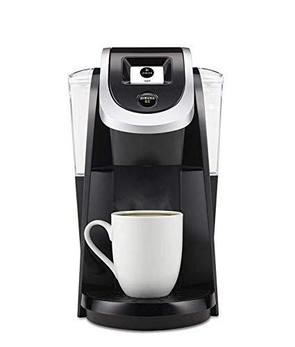 When the brewer is closed, it is 13.1 inches tall. Keurig - K200 Single-Serve K-Cup Pod Coffee Maker