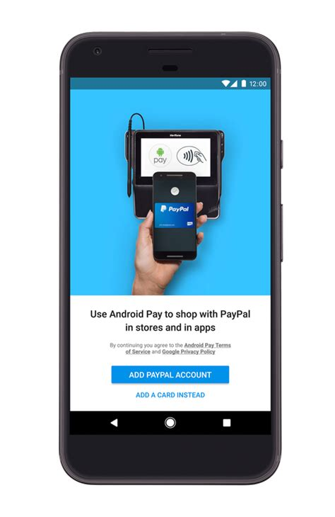 paypal mobile pay paypal partners with android pay for mobile payments