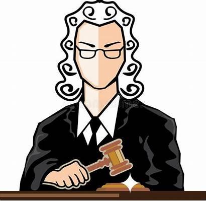Judge Clip Vector Persona Clipart Illustration Judicial