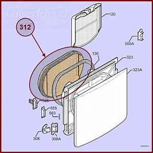 Filtre Seche Linge : avant filtre joint 1254245408 nexus4 pour seche linge ~ Premium-room.com Idées de Décoration